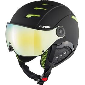 Alpina Jump 2.0 HM Casco da Sci, nero